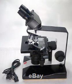 Labor Arzt Forschungs Mikroskop Leitz Biomed 100-1000x Hellfeld opt. Dunkelfeld