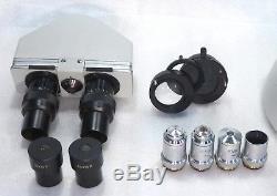 Labor Arzt Mikroskop Will BX200 binokular Hellfeld 50-1250x Köhlerbeleuchtung