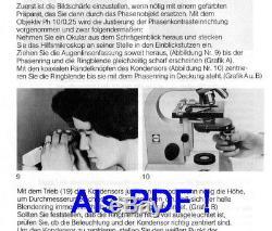 Labor Arzt Mikroskop Will BX300 Hellfeld Dunkelfeld Phasenkontrast 125-500x