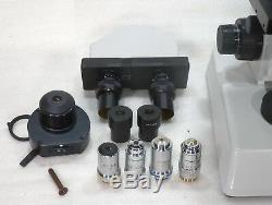 Labor Arzt Mikroskop Wilozyt für Hellfeld Dunkelfeld Phasenkontrast 125-1250x