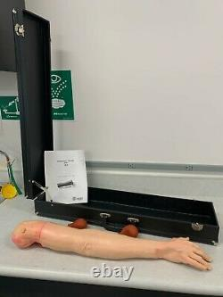 Laerdal (5)Arterial Stick Arm Trainer Kit with cases. Gently Used, Medical Equip