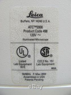 Leica ATC 2000 Microscope