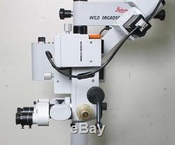 Leica / Wild M655 Surgical Microscope Ent / Dental Microsurgery / Warranty