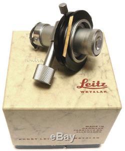 Leitz Heine Phase Contrast Condenser Microscope Accessory PHAKY PHADS PHAFT
