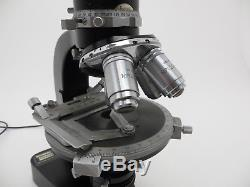Leitz Leica Wetzlar Mikroskop 709447 4x Objektive Periplan GF 10X M jf182