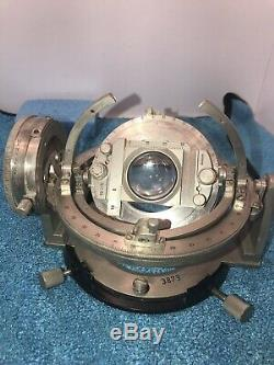 Leitz Microscope Universal Rotary 4 -Axis Fedorov Stage