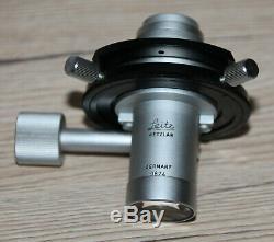 Leitz Mikroskop Microscope Phasenkontrast Kondensor nach Heine