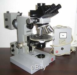 Leitz Ortholux II POL BK Polarization petrographic microscope Leica Mikroskop