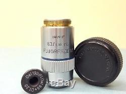 Leitz Wetzlar Objectives Microscope Lenses Fluoreszenz Fluotar Extension 14 pcs