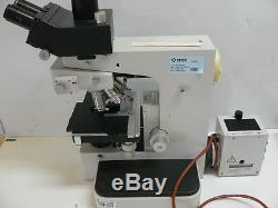 Leitz Wetzlar Orthoplan Microscope With Objectives Fluoreszenz Phaco Fluotar