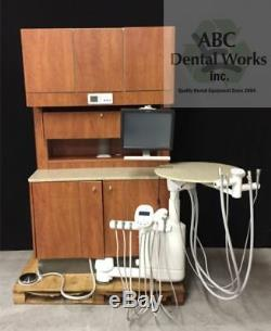 Lot of 4 Adec Preference 5580 Cabinets w 500 Duo Delivery and Adec 511 Chairs