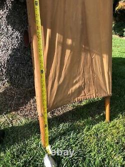 MKT RR Emergency Gold Medal Folding Furniture Wood Medical Stretcher Cot Gurney