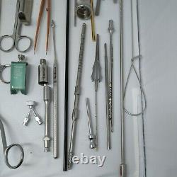Medical Equipment Lot 60+ Surgical Items Herwig, R. Wolf, Medtronic, Inox & more