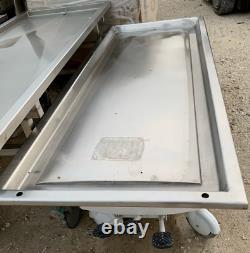 Medical Examination Autopsy Table Morgue Hospital Equipment Military Surplus