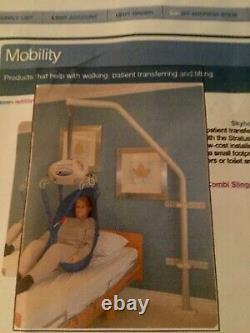 Medical Patient Lift Equipment Used Skyhook Kit includes Stratus Lift