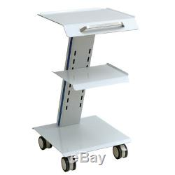 Medical Steel Cart Trolley Doctor Dentist Trolly Spa Salon Equipment Clinlic Use