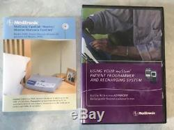 Medtronic Medical Equipment Devices Monitors Chargers Several Bags