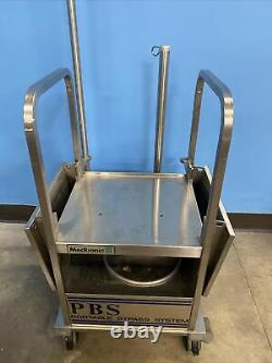 Medtronic cart for PBS PORTABLE BYPASS SYSTEM. Quality Medical Equipment Stand