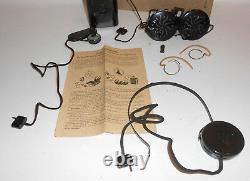 Mfg Taschenapparat With Normal & Mignonhörer VEB Medical Equipment Berlin 1950