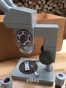Mikroskop Carl Zeiss Jena Stereo Technival Stereomikroskop Made in DDR