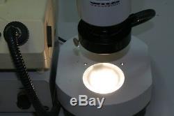 Mikroskop WILD M8 mit Ringlicht und Durchlicht