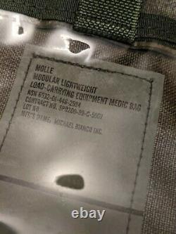Molle Modular Lightweight Load-Carrying Equipment Medic Bag Military Camo