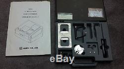 Nidek Santinelli 3D-fit Patternless Edger LE9000 LX Lens Edger System 51,649 Cut