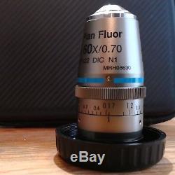 Nikon Microscope Objective CFI 60X S Plan Fluor ELWD, NA 0.70