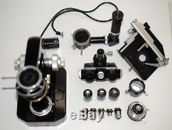 Nikon Trinocular microscope objectives incident light epi-illumination accessory