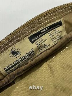 North American Rescue NAR 4 Combat Medical Equipment Bag Stocked Coyote Brown
