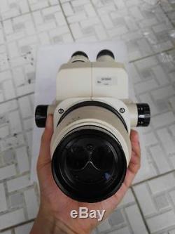 OLYMPUS SZ3060 SZ30 Stereozoom Microscope Head Body+10x Eyepiece+Objective #C20i
