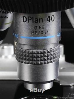 Olympus BH-2 Trinocular Microscope