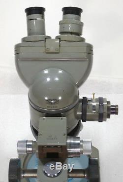 Olympus Metallmikroskop MJ Auflicht Durchlicht / Vergr. 90x + 600x erweiterbar