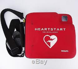PHILIPS HEARTSTART FR2+ AED with BATTERY PADS ADULT DEFIBRILLATOR MEDICAL