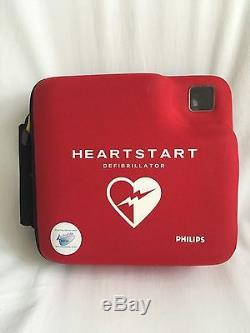 PHILIPS HEARTSTART FR2+ defib AED Battery Pads DP Memory
