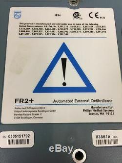 Philips Heart Start Fr2 Defibrillator Medical Equipment 2xBatteries Working