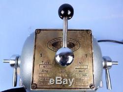 Poliermotor Wassermann W 52 mit Zubehör