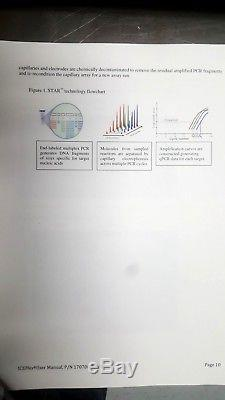 Primera Dx ICEplex II PCR thermocycler + Capillary electrophoresis Automated