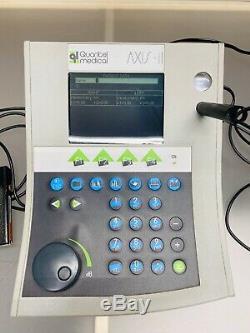 QUANTEL MEDICAL AXIS II PR Ophthalmic Equipment Echograph A SCAN Biometer BONUS