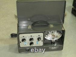 RARE VINTAGE MEDICAL EQUIPMENT Brain Wave Synchronizer Photic Stimulator, MD-5