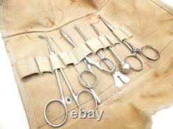 Rare Japanese Army Surgeon Combat Medic Medical Equipment Military Antique JAPAN