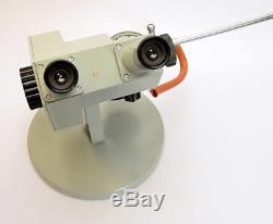 Refraktometer-Mikroskop CARL ZEISS JENA Refraktometrie Brechnungsindex (3942)