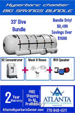 Refurbished Portable Used Hyperbaric Oxygen Chambers For Sale