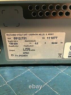 Richard Wolf 5512 1 CCD Endocam, Medical, Healthcare, Endoscopy Equipment