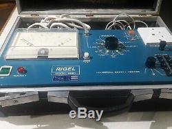 Rigel Medical Safety Tester Model 8001 Liverpool safety tester medical equipment