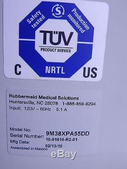 Rubbermaid Medical Solutions Cart 9m38xpa55dd Used