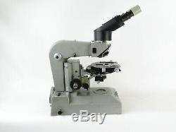 Russisches Mikroskop Lomo MMZ Pol russian microscope + Okulare und Beleuchtung