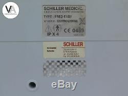 Schiller Defibrillator Fred easy AED halbautomatisch mit Multipulse Biowave