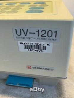 Shimadzu UV-1201 UV-VIS Spectrophotometer Used Working Medical Equipment