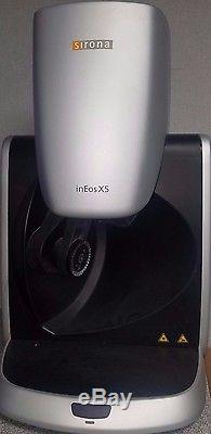 Sirona Cerec InLab MCXL Mill, inEos X5 scanner, inLab SW16, inFire furnace